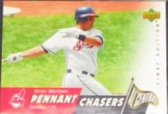 2007 UD First Edition Pennant Chasers Victor Martinez