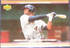 2007 UD First Edition Alex Escobar #297 Nationals