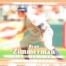 2007 UD First Edition Ryan Zimmerman #293 Nationals