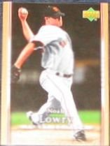 2007 UD First Edition Noah Lowry #282 Giants