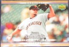 2007 UD First Edition Jason Schmidt #281 Dodgers