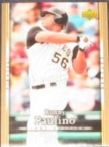 2007 UD First Edition Ronny Paulino #264 Pirates