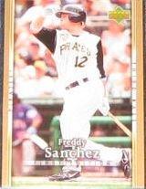 2007 UD First Edition Freddy Sanchez #259 Pirates