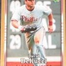 2007 UD First Edition David Dellucci #255 Indians