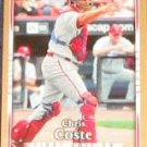 2007 UD First Edition Chris Coste #253 Phillies