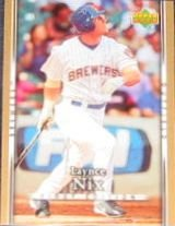 2007 UD First Edition Laynce Nix #239 Brewers