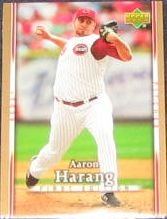2007 UD First Edition Aaron Harang #198 Reds