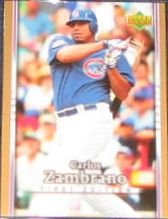 2007 UD First Edition Carlos Zambrano #190 Cubs