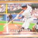 2007 UD First Edition Ryan Langerhans #180 Braves