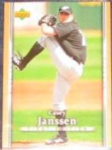 2007 UD First Edition Casey Janssen #167 Blue Jays