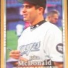 2007 UD First Edition John McDonald #162 Blue Jays