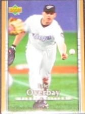 2007 UD First Edition Lyle Overbay #160 Blue Jays