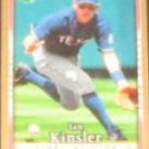 2007 UD First Edition Ian Kinsler #152 Rangers