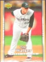 2007 UD First Edition Tyler Walker #150 Devil Rays
