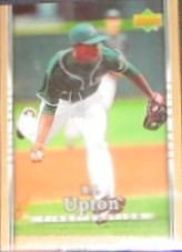2007 UD First Edition B.J. Upton #144 Devil Rays