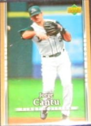 2007 UD First Edition Jorge Cantu #143 Devil Rays