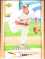 2007 UD First Edition Rich Harden #132 Athlerics