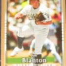 2007 UD First Edition Joe Blanton #131 Athletics