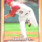 2007 UD First Edition Joe Saunders #107 Angels