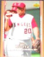 2007 UD First Edition Juan Rivera #105 Angels