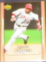 2007 UD First Edition Orlando Cabrera #102 Angels