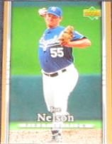 2007 UD First Edition Joe Nelson #101 Royals