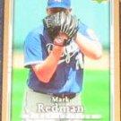 2007 UD First Edition Mark Redman #98 Royals