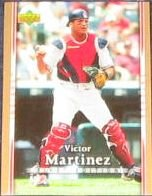 2007 UD First Edition Victor Martinez #78 Indians