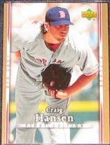 2007 UD First Edition Craig Hansen #66 Red Sox