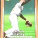 2007 UD First Edition Brandon Fahey #52 Orioles