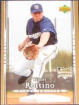 2007 UD First Edition Rookie Vinny Rottino #26 Brewers