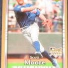2007 UD First Edition Rookie Scott Moore #7 Cubs