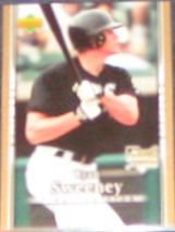 2007 UD First Edition Rookie Ryan Sweeney #11 White Sox