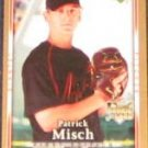 2007 UD First Edition Rookie Patrick Misch #37 Giants
