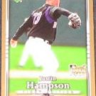 2007 UD First Edition Rookie Justin Hampson #14 Padres