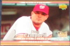 2007 UD First Edition Rookie Brett Campbell #50