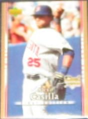 2007 UD First Edition Rookie Alexi Casilla #28 Twins