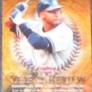 2007 Fleer Year in Review Derek Jeter #YR-DJ Yankees