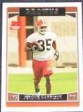 2006 Topps Rookie Jerome Harrison #376 Browns