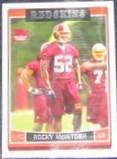2006 Topps Rookie Rocky McIntosh #339 Redskins
