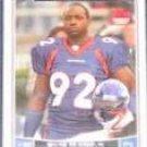 2006 Topps Rookie Elvis Dumervil #328 Broncos