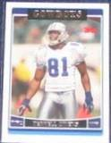 2006 Topps Terrell Owens #47 Cowboys