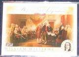 2006 Topps Declaration of Independence William Williams