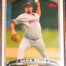 2006 Topps David Wells #240 Red Sox