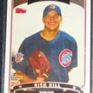 2006 Topps Rookie Rich Hill #319 Cubs