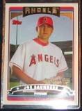 2006 Topps Rookie Joe Saunders #311 Angels