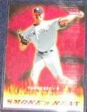 2006 Fleer Smoke 'n Heat Randy Johnson #SH-11 Yankees