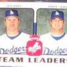 2006 Fleer Team Leaders Kent/Lowe #Tl-14 Dodgers