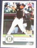 2006 Fleer Rookie Doug Clark #156 Athletics