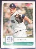 2006 Fleer Rookie Jeff Harris #188 Mariners